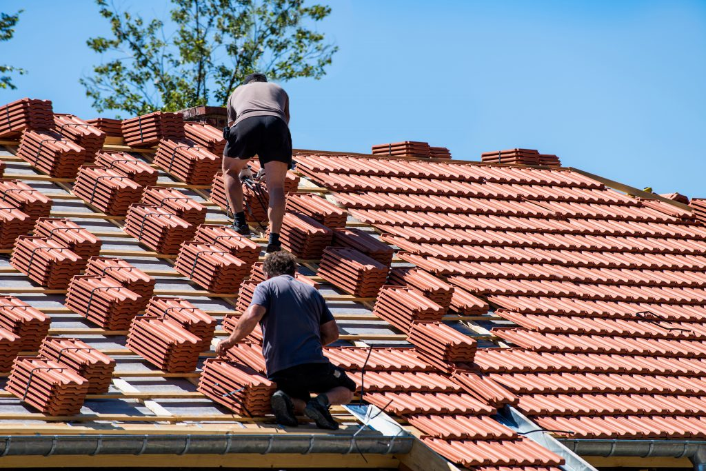 synthetic tile roof faux tile roof faux clay tile roofing tiles roof new roof replacement